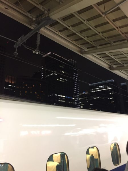 11月17(土)は仕事を終えてから東京に行ってきました。