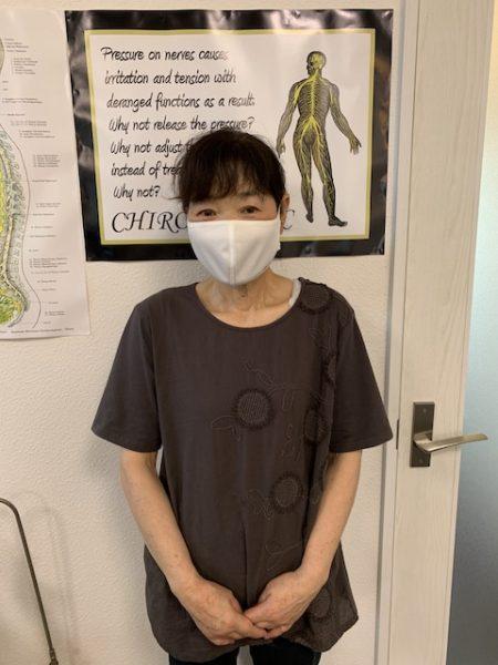 福山市 肩こり 腰痛 施術家談義 T.K様 62歳 女性